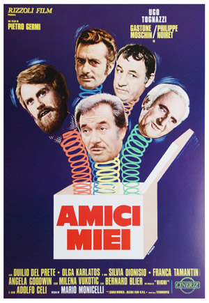 Top Movies filmed in Florence: Amici Miei